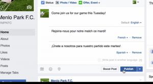 Facebook'ta Çoklu Dille Durum Paylaşma Artık Kolay Hale Geliyor!