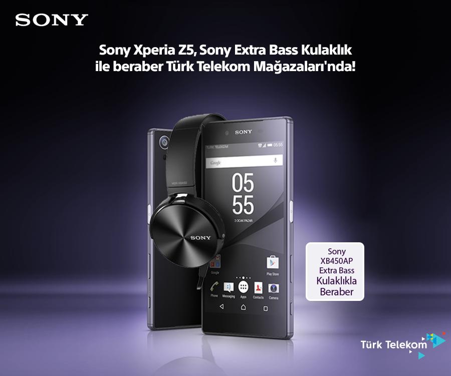 Sony'den Türk Telekom'a Özel Kampanya!