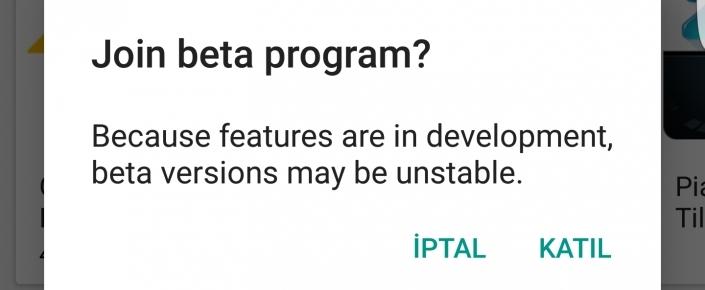 Artık Google Play Store ile Beta Testlere Katılabilirsiniz