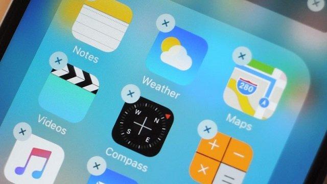 iPhone'da Yüklü Gelen Uygulamalar Nasıl Kaldırılır?
