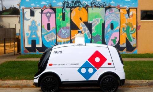 Dominos Pizzalarını Nuro İle Evlere Taşıyacağını Duyurdu !