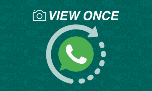 "WhatsApp ""view once"" Özelliği Geliyor!"